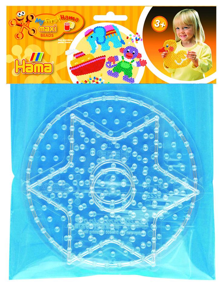 8220 Round Peg Board for Hama Maxi Beads